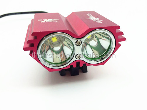 Cree XM-L2 1800LM waterproof design led mountain bike light With 18650 Battery