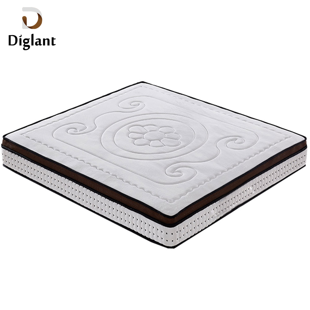 Diglant LIN-424 furniture Online For Sale Dreamland Orthopedic Queen Size Hybrid Memory Foam Spring Mattress - Jozy Mattress | Jozy.net