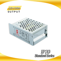Single output constant voltage cctv power supply box factory price with CE ROHS approved