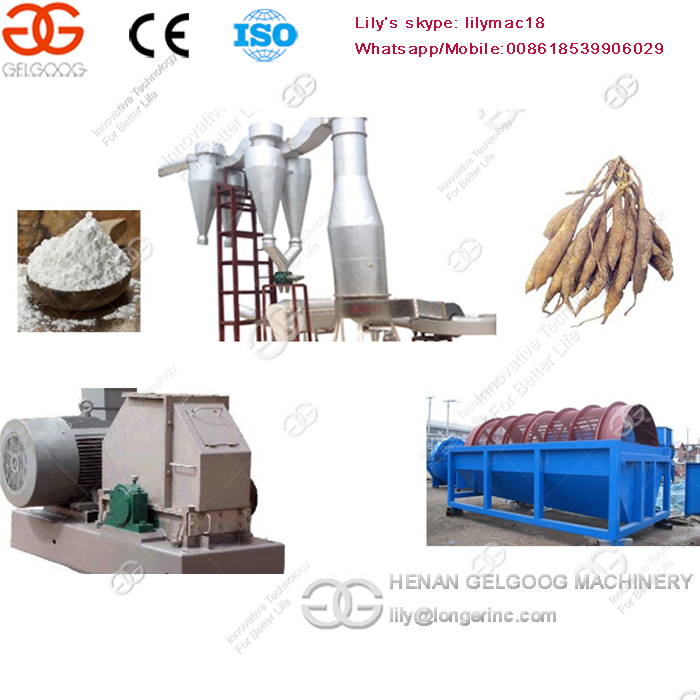 Factory Provide Whole Tapioca Starch Processing Machine Production Line