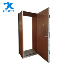 Prepainted double leaf fire airtight door seal