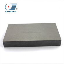 YG8 tungsten carbide flat plate for machinery liner/YG15 tungsten carbide customized strips liner