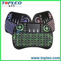 Special design i8 new mini wireless keyboard with touchpad multi language