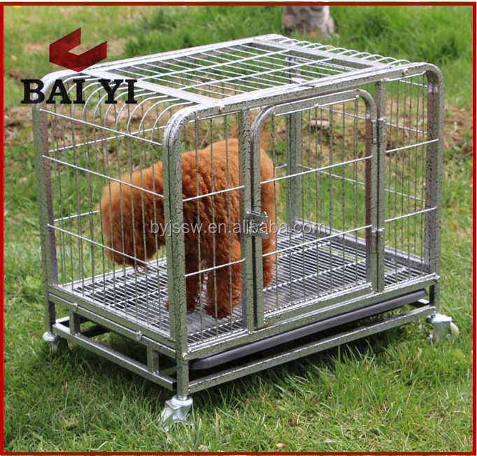 Anping factory design dog carrier with square tube frame