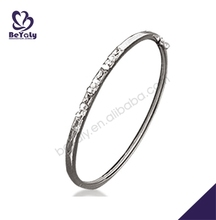 wholesale fashion trendy silver jewelry china glass bangles manufacturers
