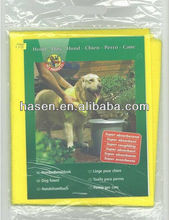 pet dog drying cleaning cloth(viscose/polyester)