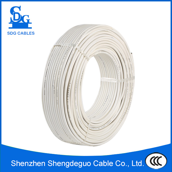 RVV low voltage PVC electrical copper cable price 400v for household