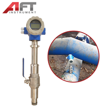 cheap sewage water Insertion magnetic flow meter
