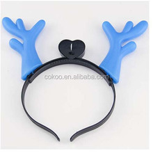 Birthday party decoration deer horn led headband for event party supplies flashing hairpin light up toy party favors
