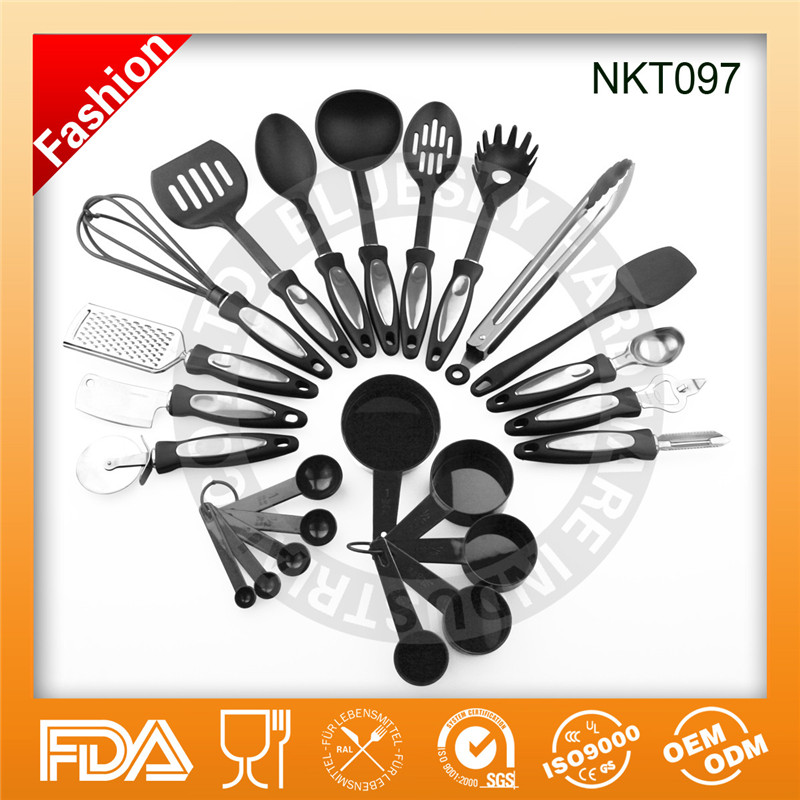 Amazon hot sell 24 piece kitchen utensil and gadget set