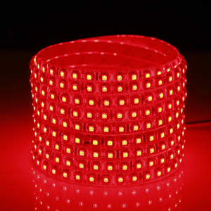 2016 Hot Sale 12V LED Light 5M SMD3528 120leds/M white/Red/warm white Strip light 600 LED waterproof