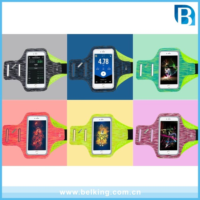 Water Resistant Sports Armband for iPhone 6 6S 4.7 Inch SE 5/5C/5S for Samsung S3/S4