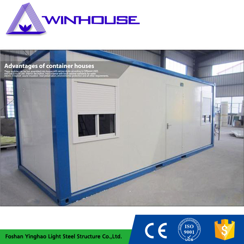Low Cost Mobile Living Prefabricated House Container For Sale