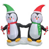 Christmas decoration penguin toy inflatable penguin holiday living outdoor decorations