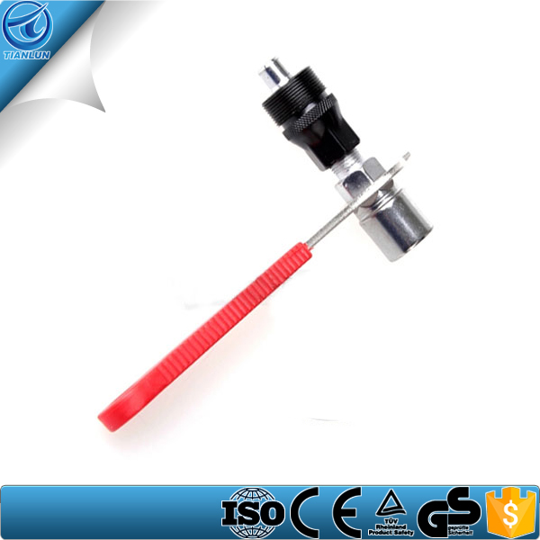 red handle bicycle crank puller removal repair Tool