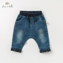 DBJ11000 dave bella autumn full length baby <strong>boy's</strong> jeans <strong>pants</strong>