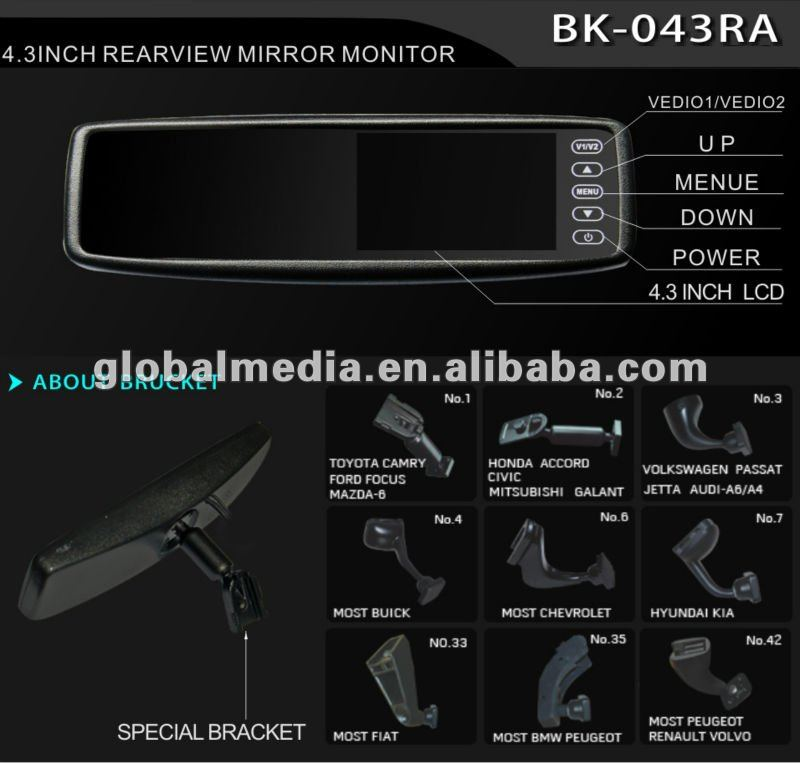 latest rearview mirror for Ford,TOYOTA,GM, NISSAN ,VW ,HYUNDAor CitroeI, kIA ,GEELY,Peugeot