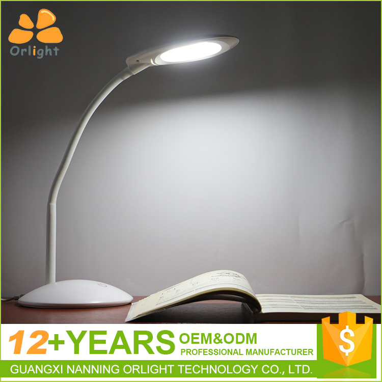 Professional Table Light Reading Study Gooseneck Foldable Usb Operated Switch Touch The Desk Lamp