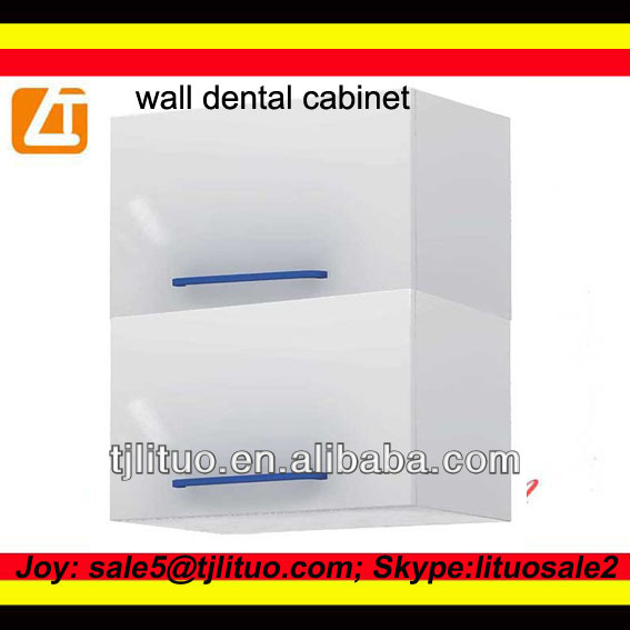 White color metal wall cabinet, dental cabinets for sale on wall