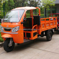 chongqing zonlon three wheeler with cover /audlts tricycles/3 wheeler motorcycle