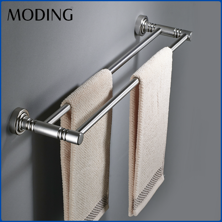MODING Famous Products Space Aluminium Free Standing Hotel Towel Stand Rack