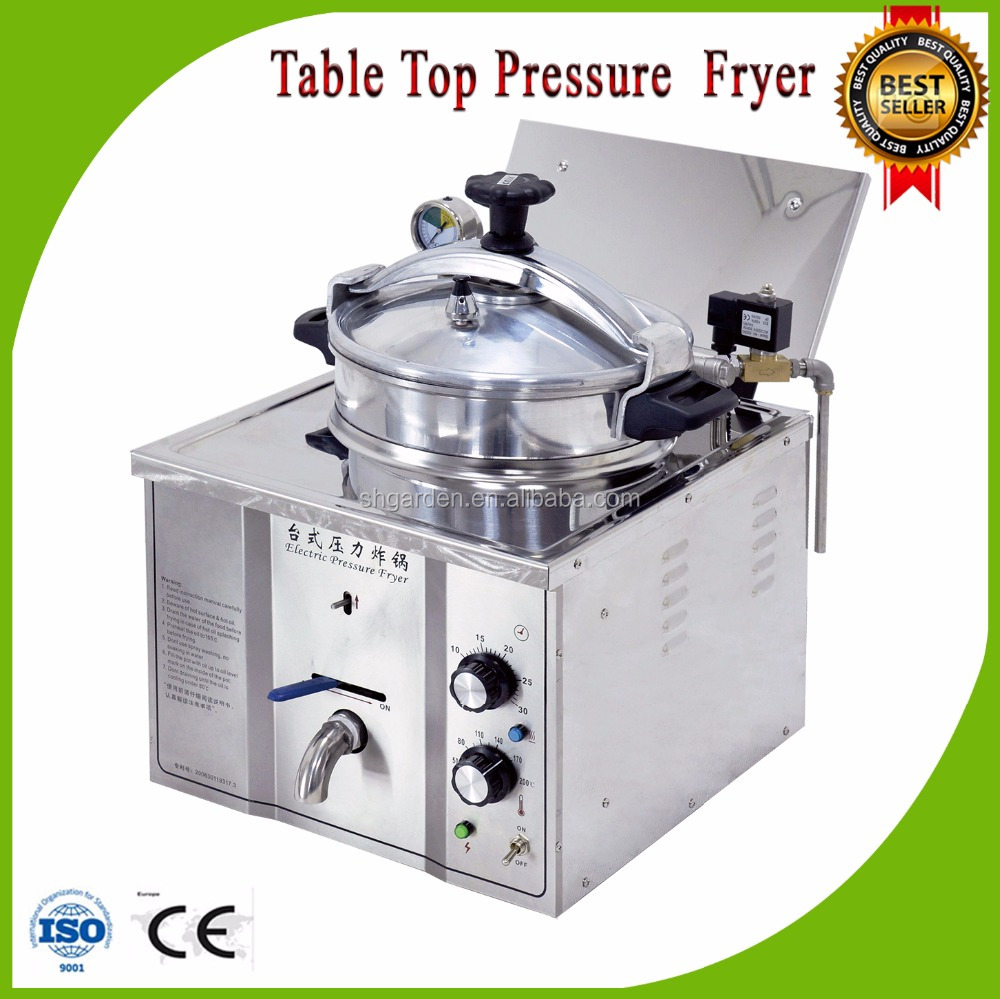 commercial table top pressure fryer/chicken pressure fryer
