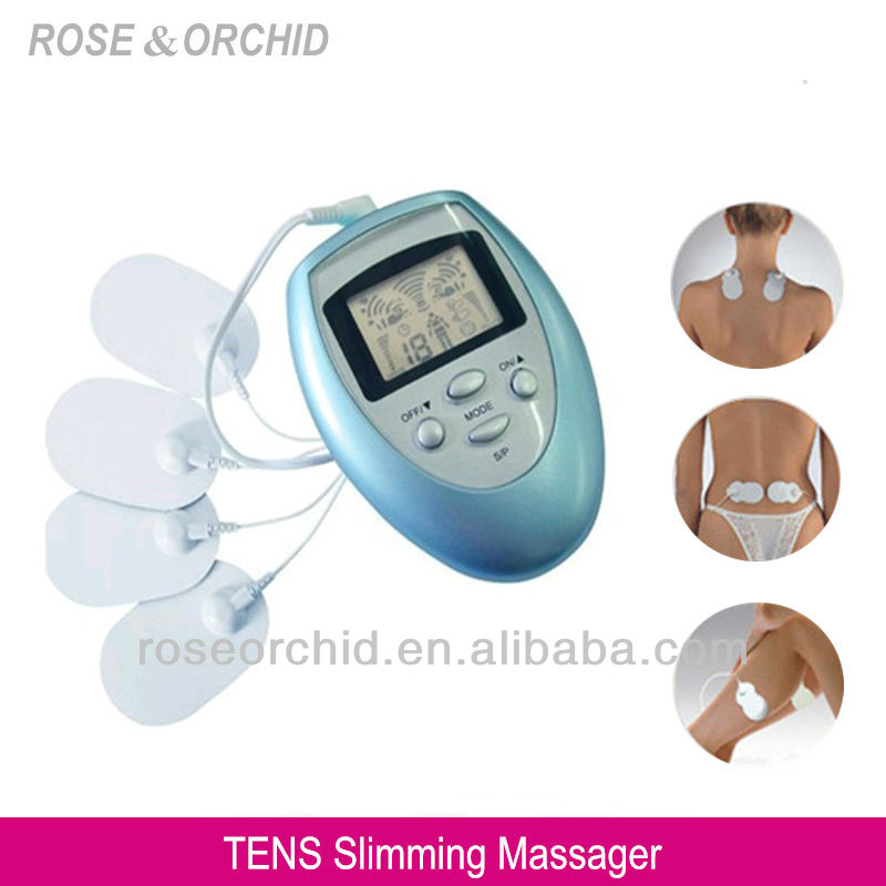 RO-1032 Electronic Mini Pulse Therapy Massager with Pulse Pads