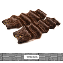 Rebecca Customized High Quality 100% Brazilian Virgin Deep Wave Human Hair