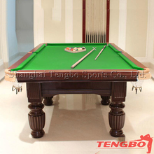 Factory made natural slate cheap price 7ft/8ft/9ft TB-CS002 pool tables