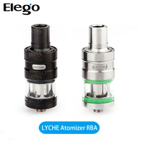 New products 2016 Huge Vapor ismoka Electronic Cigarette Tank Side filling Eleaf Lyche Atomizer