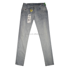 GZY summer promotion $2.99/pc skinny lady jeans pencil cut jeans