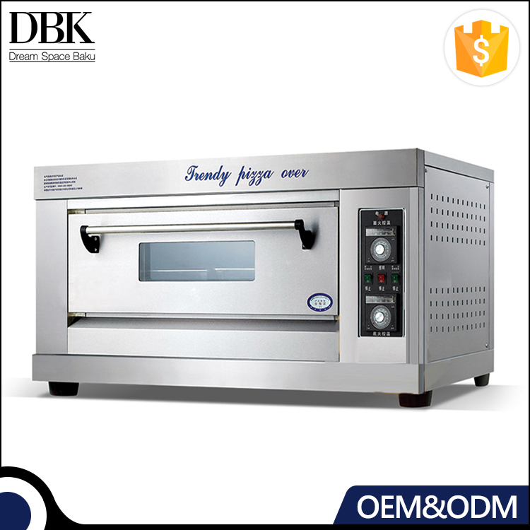 DBK Professional Commercial stainless steel electric pizza bakery machine oven