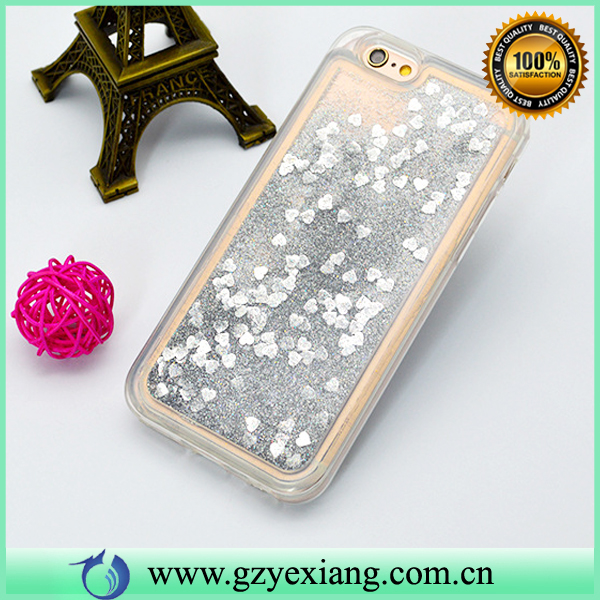 Liquid Quicksand Bling Crystal Phone Case For Samsung Galaxy Note 6 Glitter Case