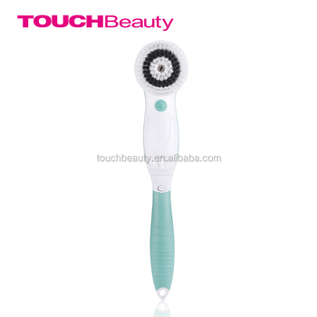 AS-07599 TOUCHBeauty 360 Rotary Long Handle Electric Bath Brush /Body Brush with Retractable Bath Handle