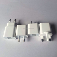 For iphone 6 EU,AU,US,UK dual usb home wall charger adaptor