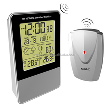 CE RoHS Home professional automatic rf 433mhz wireless weather station