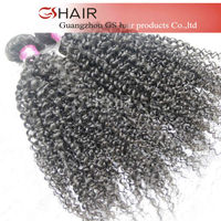 2014 Hot selling GS HAIR full cuticle tangle free fascination curl hair