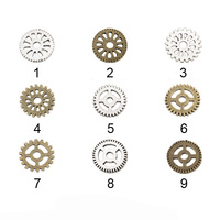 Steampunk Gears Cogs Wheels Wheel And Gear Charms Steampunk Charms Cogs Clock Gears Watch Parts Charms