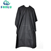 Waterproof Black Hair Cutting Cape Customized