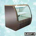Commercial display cold deli showcase/curved glass deli meat refrigerator/dispaly case
