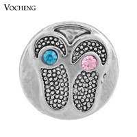 20PCS/Lot Wholesale Vocheng Ginger Snap 18mm Interchangeable Button Jewelry (Vn-953*20) Free Shipping