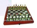 2014 top grade metal chess set