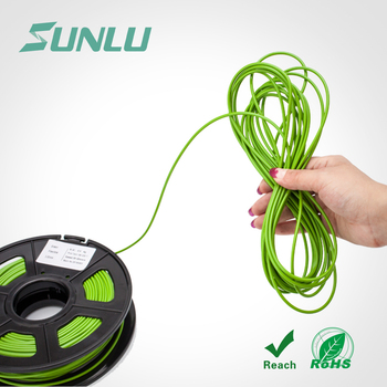 Sunlu No Bubble 1.75 flexible plastic filament for 3d printer