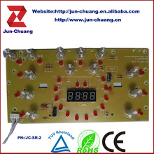Control panel heating circuit board induction cooker