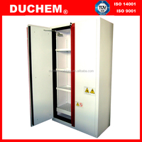 Metal Laboratory Chemical Reagent Storage Cabinet