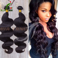 Thick Ends Wholesale Unprocessed Virgin Human Hair Bundles Weaves Remy Human Hair Extensions 10 Inch Body Wave Brazilian Hair