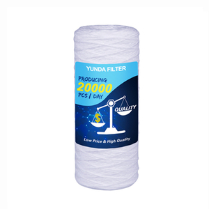Water Treatment 100 Micron Water Filter Cartridge