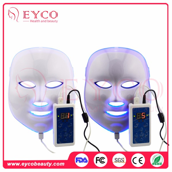 EYCO BEAUTY led facial mask 7 colors facial mask Popular red light therapy acne red light mask