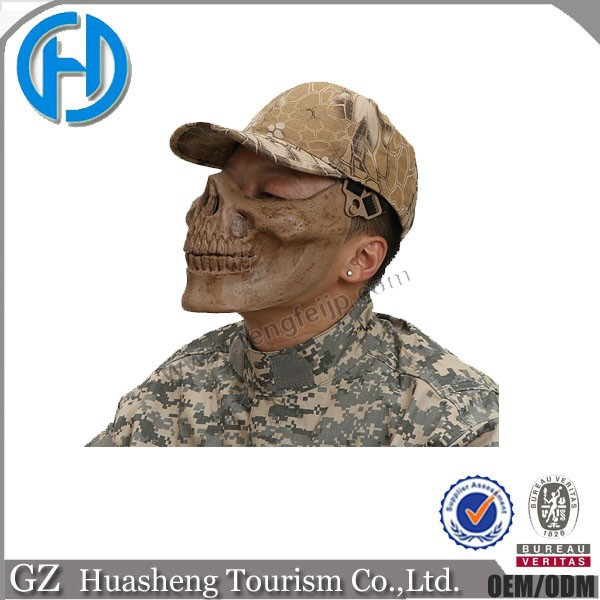 Tactical airsoft protective skull mask for softgun