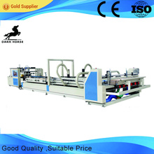 Low Price Automatic CNC auto carton box gluing machine